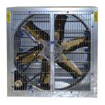 galvanised industrial fan
