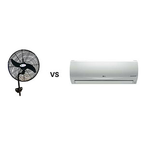 Ceiling Fans vs Air Conditioning Systems