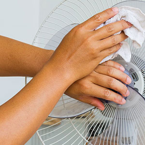 How to Clean a Pedestal Fan