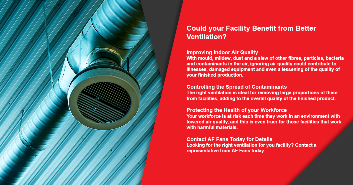 Could your Facility Benefit from Better Ventilation